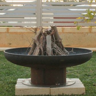 Wineglass Fire Pit/Planter